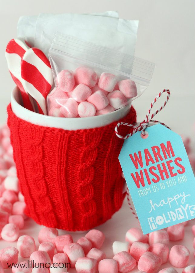 Hot Cocoa Gift Idea | Drop ideas for work | Pinterest | Gifts ...
