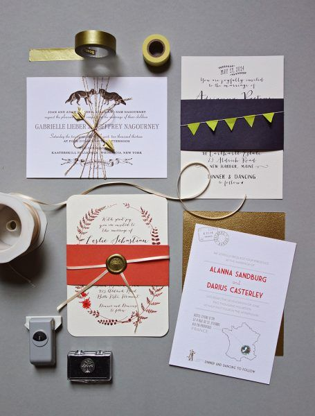 free printable belly bands and tags for your diy invitations oh