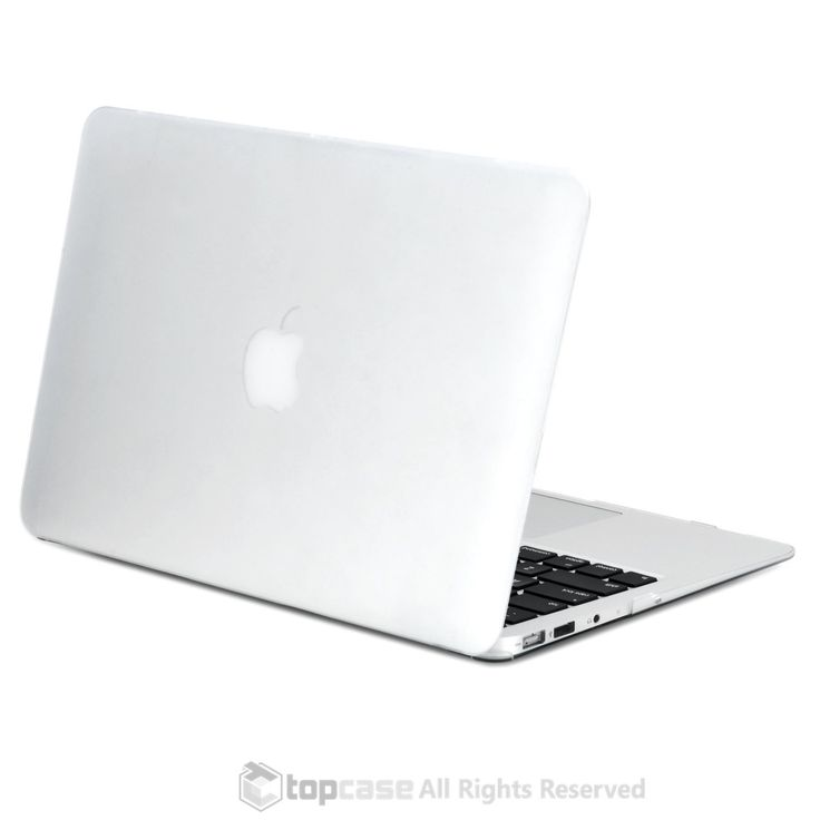 """- 100% Brand New Top Case (Rubberized Coating) - Highest Quality Soft Rubberized Coating Prefect fit for Macbook Air 13"""" A1369 & A1466 - New Release June 2012 and Late 2010 - Fully access to all butto"""