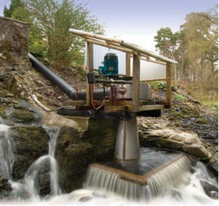 Mini hydro electric power plant