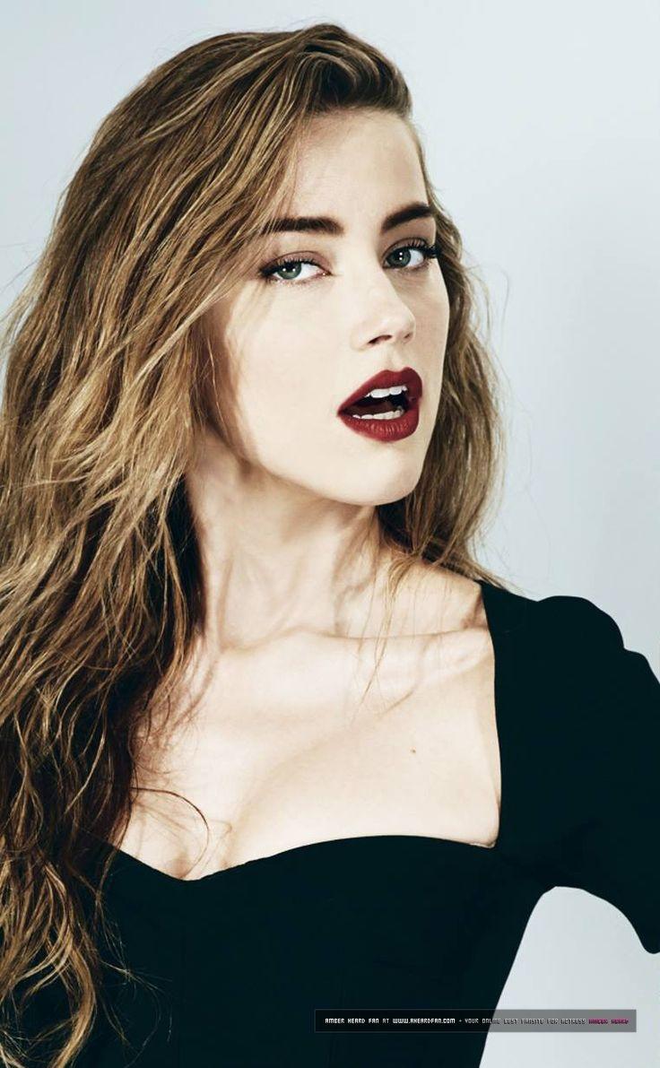 Amber Heard makeup | Funny Face | Pinterest | Amber heard ...