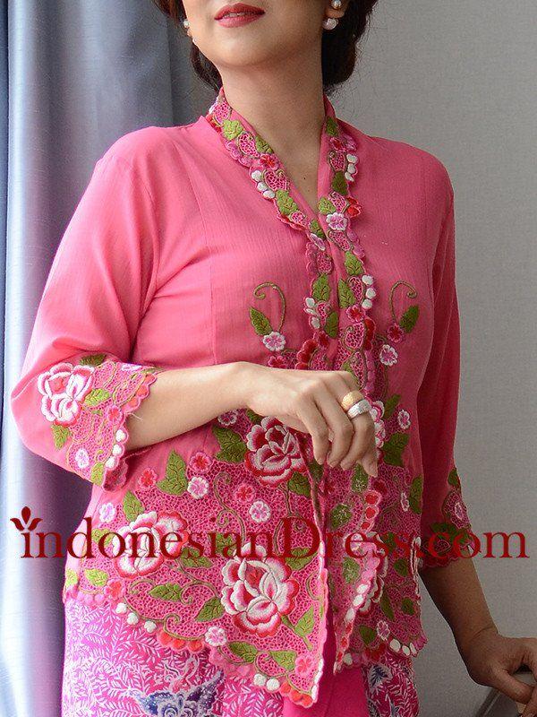 Pink Modern Kebaya
