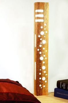 Make a Resin, Wood and LED Lamp
