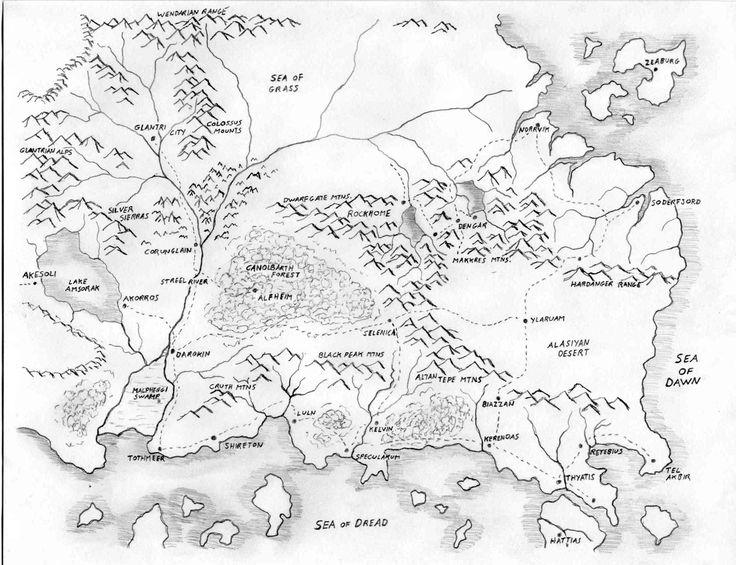 Fantasy World Generator [random map]