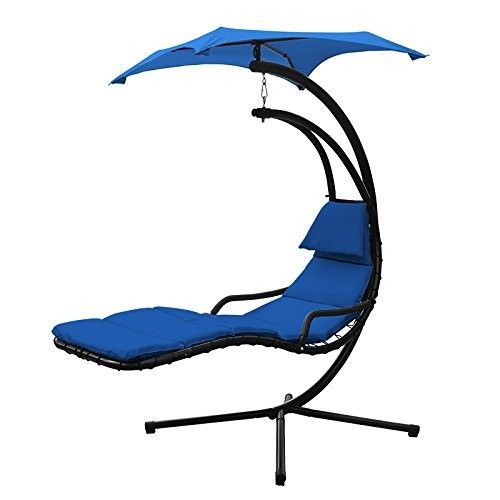 Floating Swing Chaise Lounge Chair Hammock Lounger