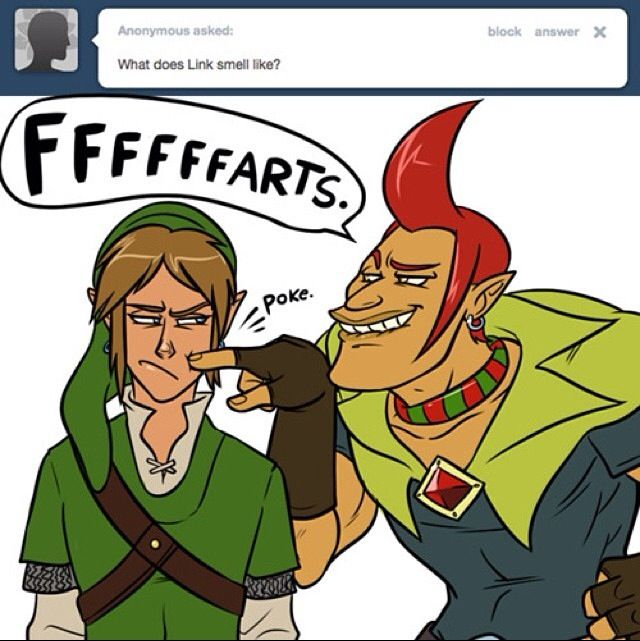 Funny Meme Links : Found this on tumblr loz meme groose and link the