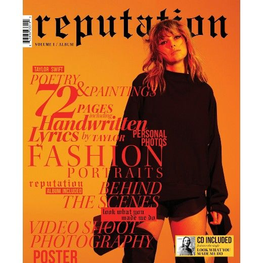 Taylor Swift - reputation (CD + Target Exclusive Magazine Vol 1) : Target