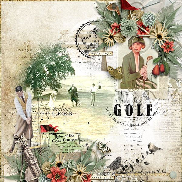 The Vintage Golfer : G & T Designs  https://www.e-scapeandscrap.net/boutique/index.php?main_page=product_info&cPath=113_189&products_id=15647#.WXm341KB3XS Sweet Memories Template by Heartstrings Scrap Art