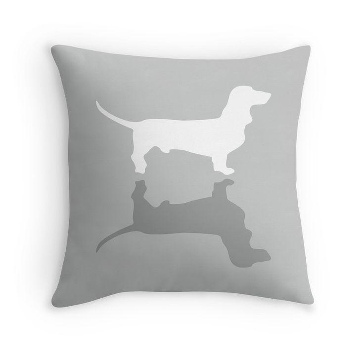 Silver Dachshund Pattern