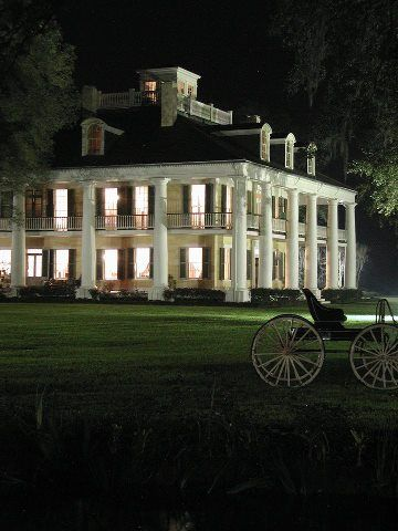 Greek Revival plantation