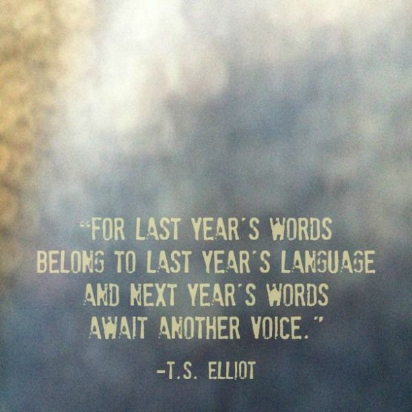 7 Inspiring Quotes for Celebrating the New Year....the 2nd one is my favorite, but they are all good