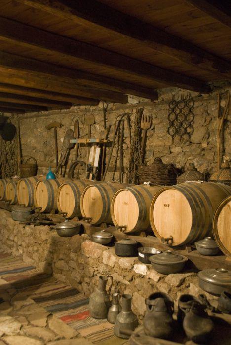 Traditional Wine Cellar in Siatista, Kozani