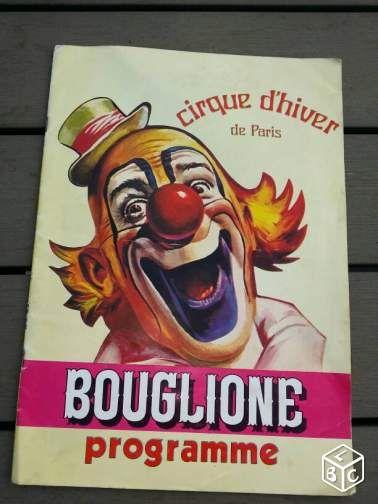Programme cirque Bouglione Paris vintage Collection Paris - leboncoin.fr #chrisdeparis 40€