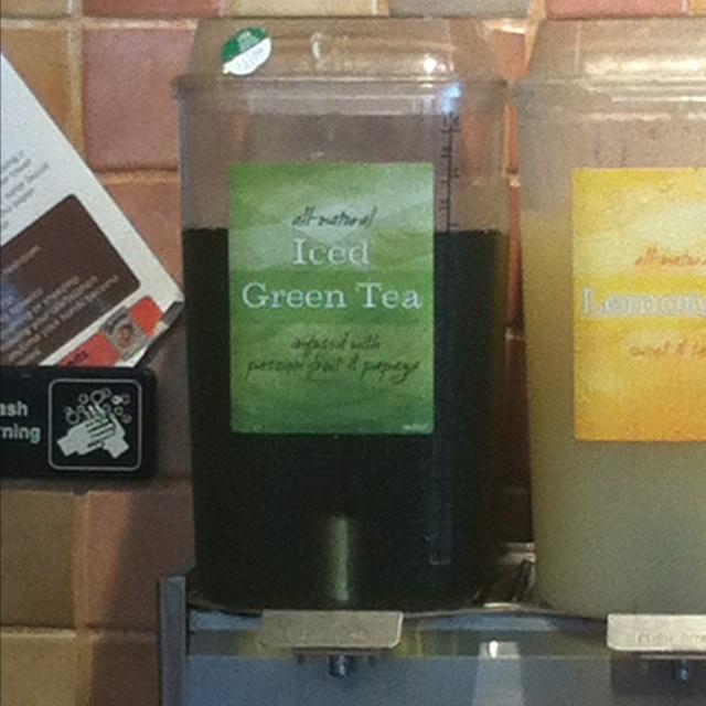 I LOVE Panera's green tea, always wondered how it tasted like koolaid, turns out its passion fruit & papaya infused! I wanna try that myself!
