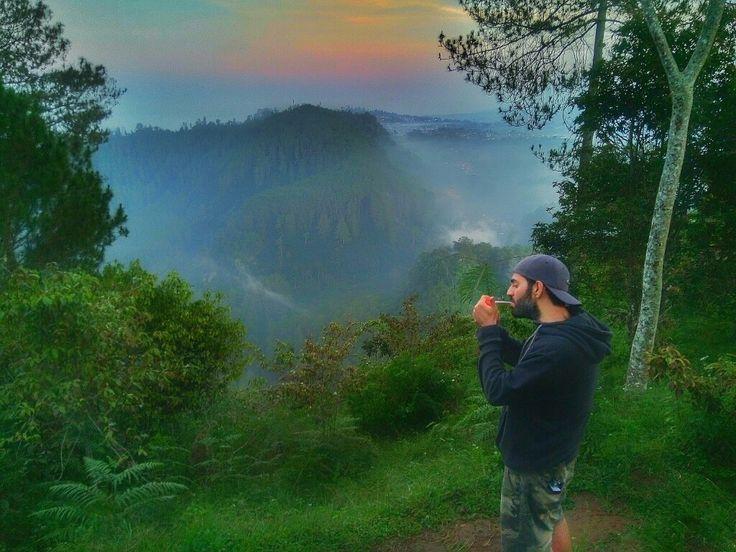Sunrise in Bandung.