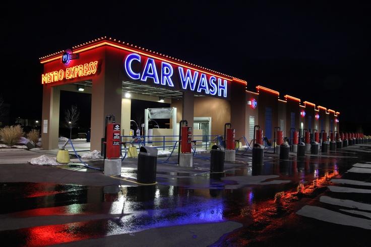 Meridian wash at night