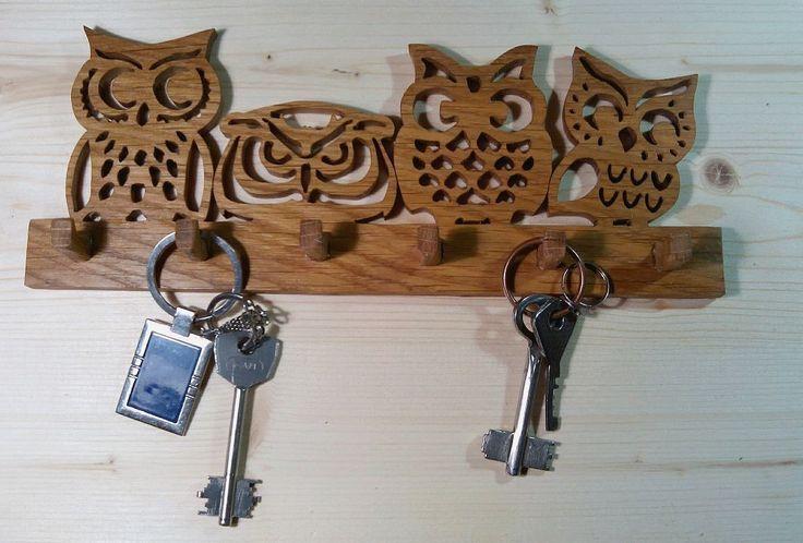 40 The Most Adorable Diy Key Holder Ideas Key Holder Diy Scroll Saw Patterns Scroll Saw