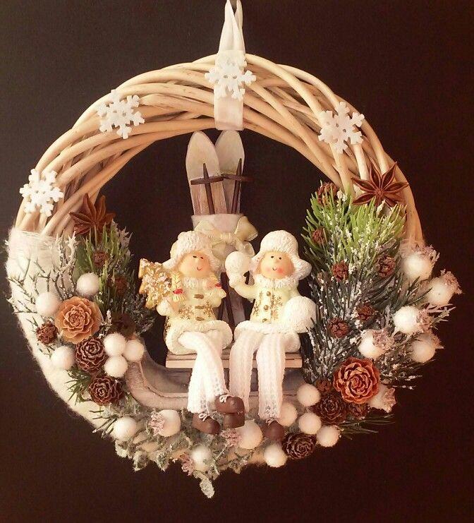 Karácsonyi ajtódísz