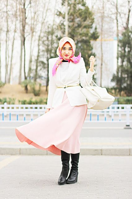 Dian pelangi ♥ Muslimah fashion & hijab style