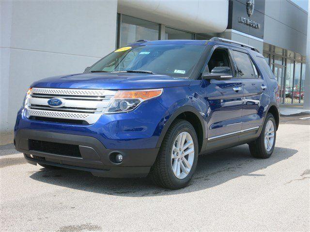 New 2014 Ford Explorer XLT (Blue SUV) | Charleston