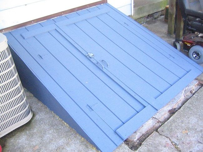 Bilco doors alternative door designs plans door design for Basement entrance design