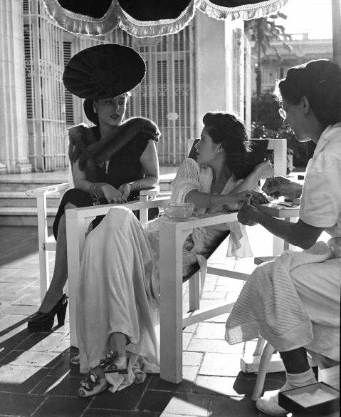 Kind of how I imagine pre Castro Cuba......Photograph by Nina Leen. Havana, Cuba, 1946.