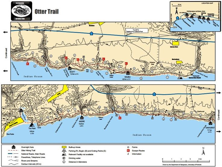 Otter Trail (5 day) in South Africa