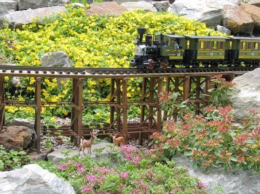 Crimson Star's Garden Railroad