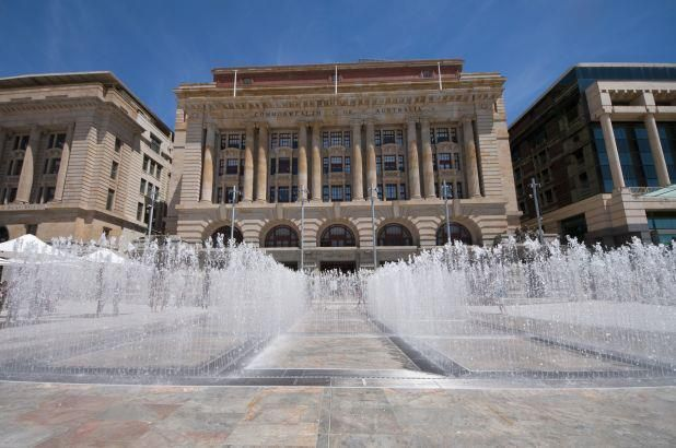 The Water Labyrinth @ Forrest Place