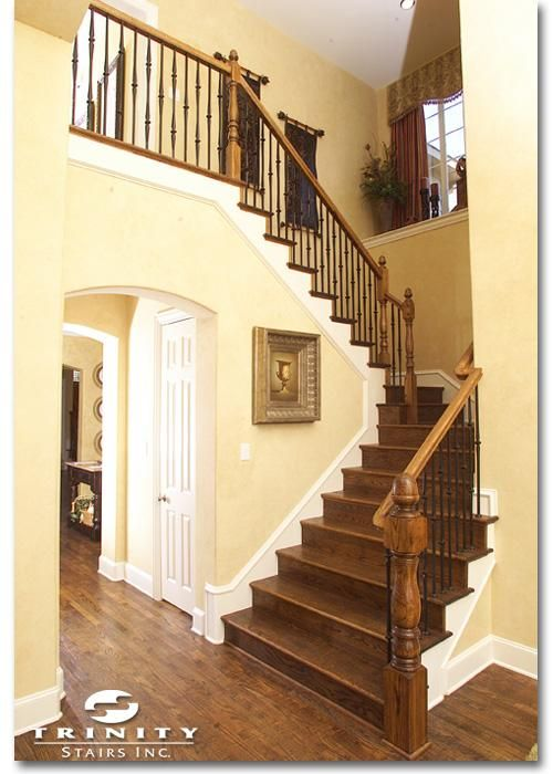 17 Best Images About Stairs In Residential Homes On Pinterest