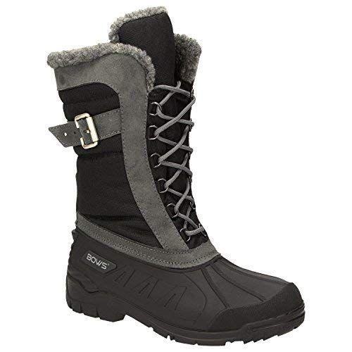 finest selection 0779a cbb5d BOWS -SUSI- Winterstiefel Damen Schnee Stiefel Snow Schuhe ...