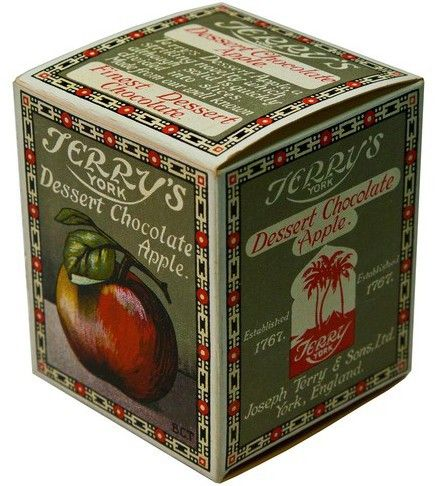 Wow, never knew Terry's used to do a chocolate apple. The orange is still around but now made in Poland, not York.