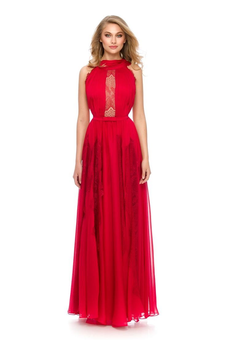 Red dress = hot look! ❤ Must have ORERA evening dress by Athena Philip >>> www.athenaphilip.ro
