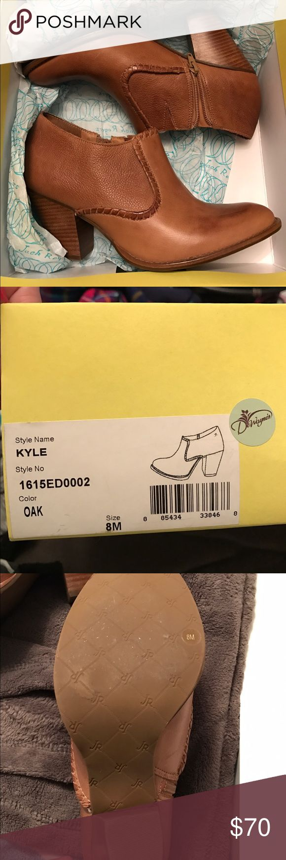Jack Rogers Kyle Bootie Size 8, brand new in box Jack Rogers Kyle Bootie, only worn in the store to try them on. Selling because I haven't worn them and I want someone else to get use out of them. Jack Rogers Shoes Ankle Boots & Booties