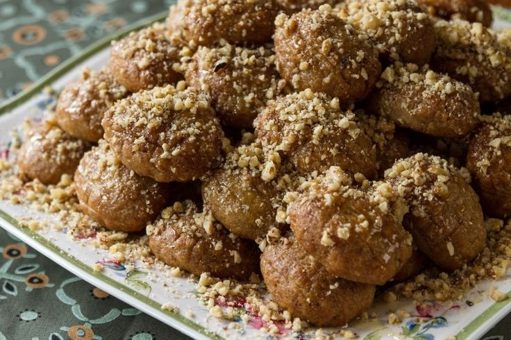 Greek Spiced Christmas Cookies in Syrup - Melomakarona - from chef Akis Petretzikis.