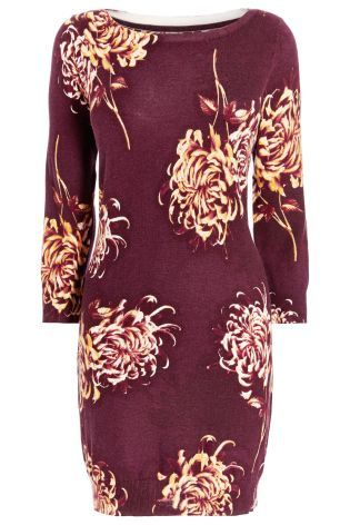 Buy Berry Floral Dress from the Next UK online shop
