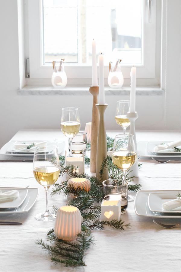 108 best Tischdeko Weihnachten images on Pinterest  Christmas time Decorations and Home