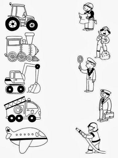 Profese + dopravní prostředky