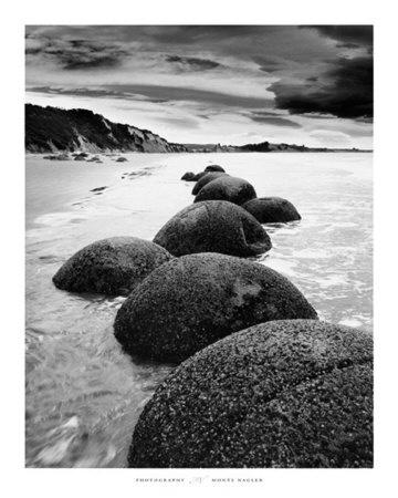 Moreaki Boulders, Moeraki, Otago Coast, New Zealand - numerous visits during childhood & family holidays to Kakanui.