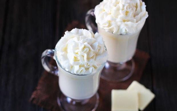 Angyali kényeztetés - Fehér forró csoki   Femcafe