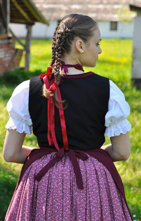 My Great Grandma born in Hungary would braid my hair like this :)