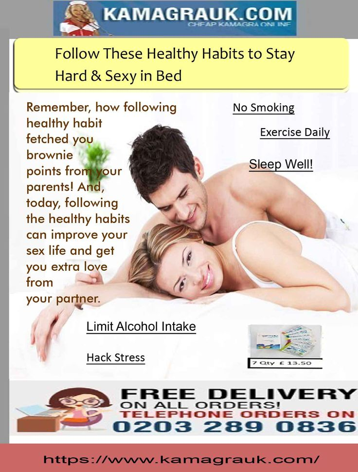 As per the medical researches, it has been found that healthy lifestyle & habits can enhance libido, improve sex life and can treat erectile dysfunction in both men & women to a great extend. Fundamentally, sexual arousal and function depends on the good blood flow (cardiovascular system). So, when one follows healthy habits, their cardiovascular system stays healthy and can maintain their sex lives better.