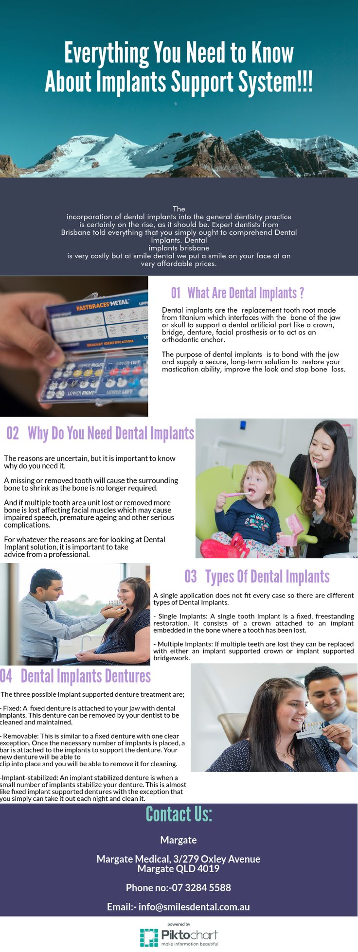 The incorporation of dental implants into the general dentistry practice is certainly on the rise, as it should be. Expert dentists from Brisbane told everything that you simply ought to comprehend Dental Implants. Dental implants brisbane is very costly but at smile dental we put a smile on your face at an very affordable prices.