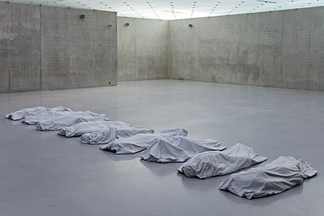 MARBLE - bodies installation