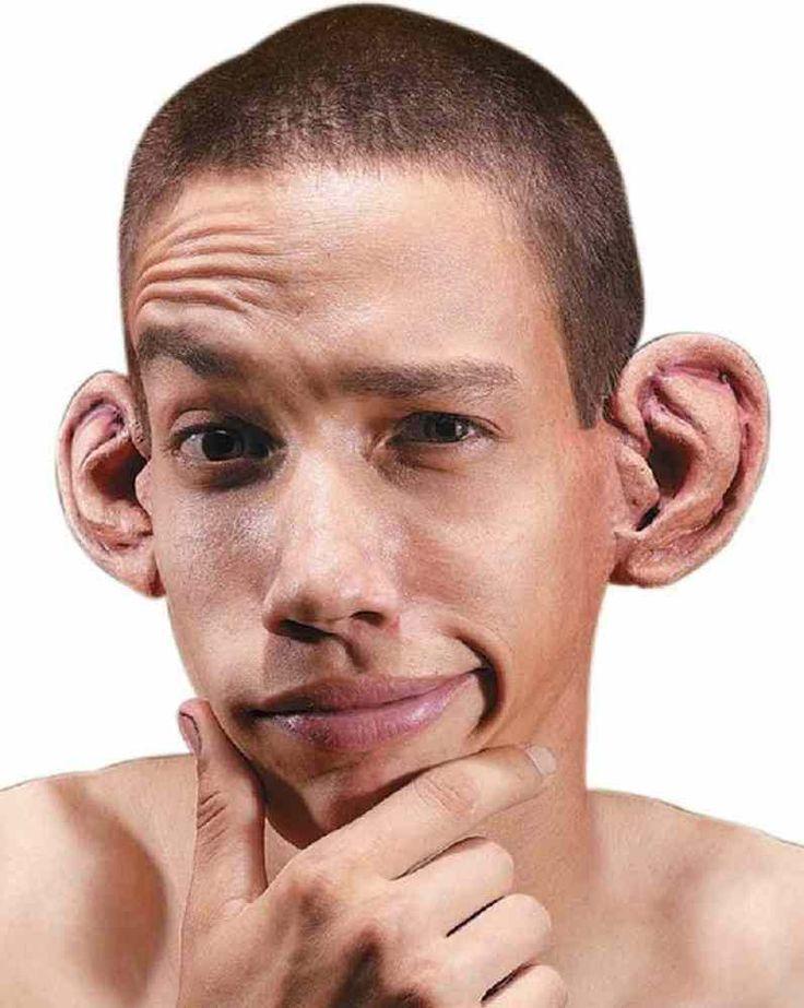 Картинки с большим ухом у человека