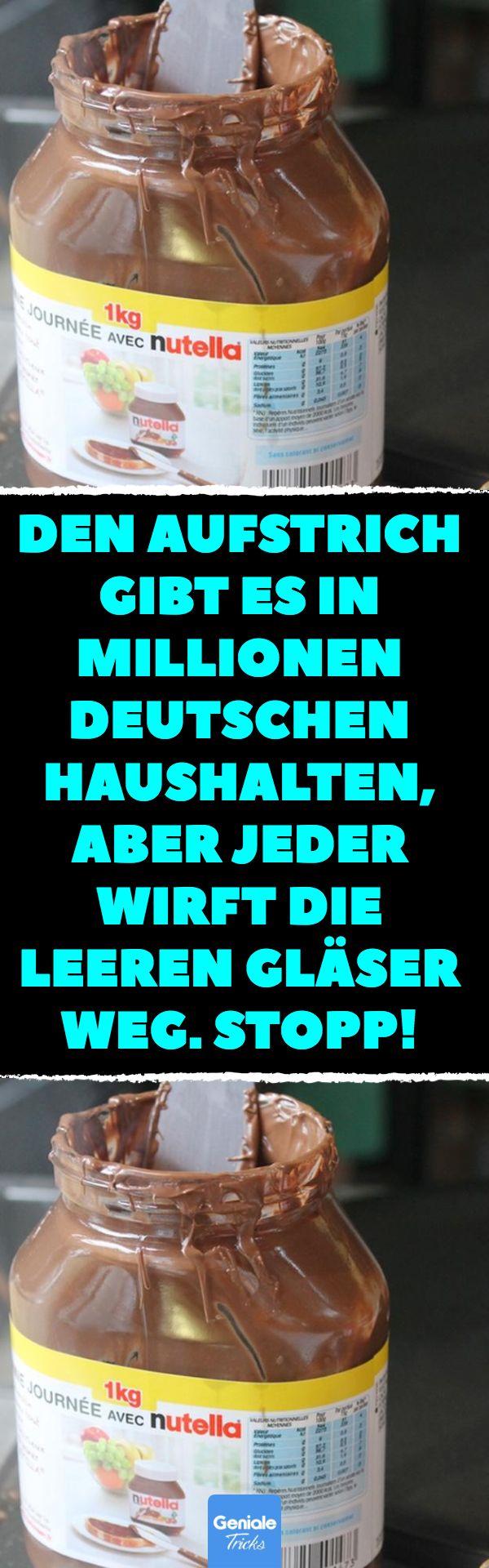 Den Aufstrich gibt es in Millionen deutschen Haush…