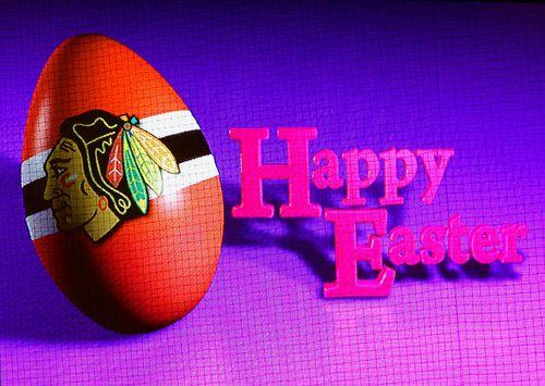 Hawks Happy Easter