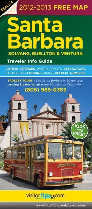 Santa Barbara Traveler Info Guide brochure | Travel ...