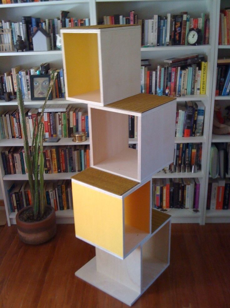 Cool DIY modern cat tree