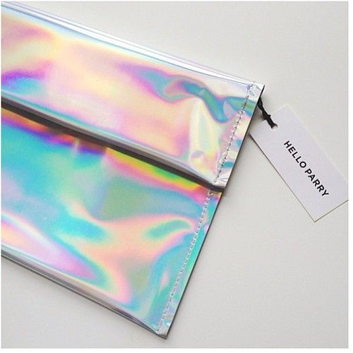 holographic clutch! Mines in the mail, so excited :)